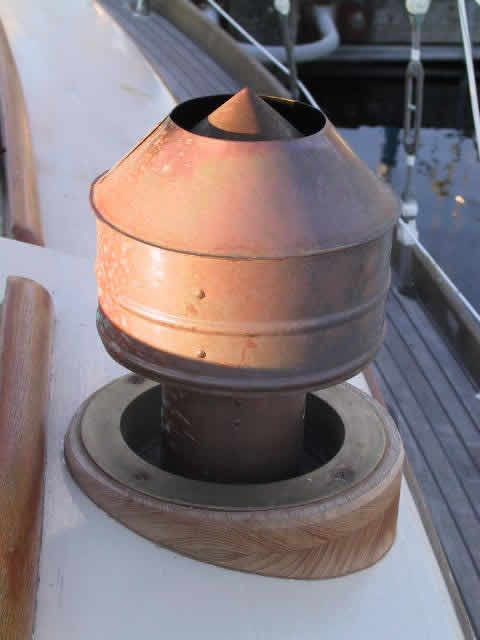 chimney vent on boat